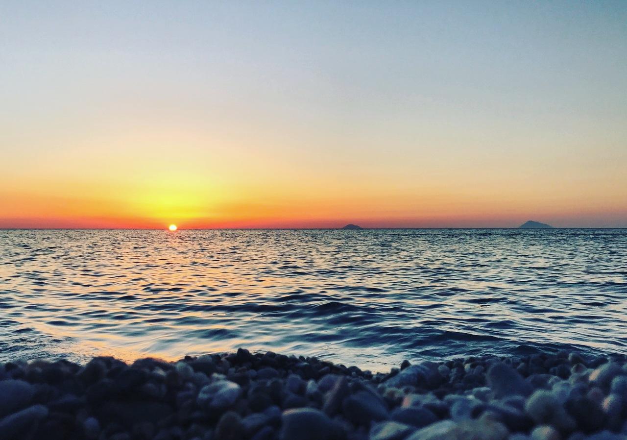 Eolian sunset